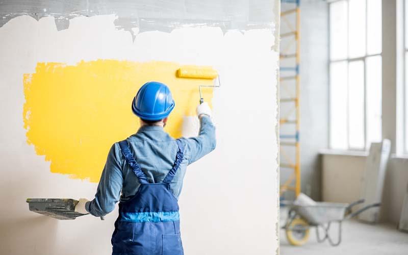 Lưu ý khi thi công sơn nước